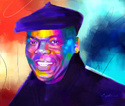 Carey Muhammad Paintings - Portrait Commission by Carey Muhammad