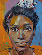 Retro Paintings - Portrait by Michael Creese