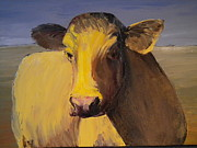 Carolyn Doe - Portrait Of A Cow