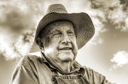 Lisa Moore - Portrait of a Farmer in...