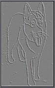 Portrait Of A Friend Poaf00000001 Print by Pemaro