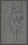 Portrait Of A Friend Poaf00001 Print by Pemaro