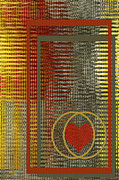 Abstract Art - Portrait Of A Heart by Ben and Raisa Gertsberg