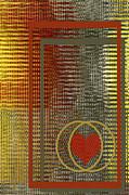 Portrait Of A Heart Print by Ben and Raisa Gertsberg