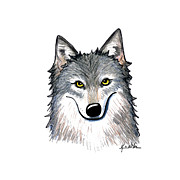 Kim Niles - Portrait Of A Wolf