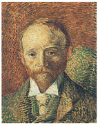 Portriat Prints - Portrait of Alexander Reid Print by Vincent Van Gogh
