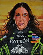 Race Digital Art Originals - Portrait of Alexis by P D Morris