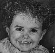 Portrait Of Giulia Print by Arual Jay