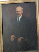 Anne-Elizabeth Whiteway - Portrait of Grandfather Turner by my Father