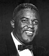 Famous Americans Photos - Portrait Of Jackie Robinson by Underwood Archives
