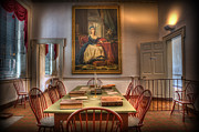 Independence Hall Posters - Portrait of Marie Antoinette in Congress Hall II Poster by Lee Dos Santos