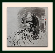 Richard Xiaochuan Li - portrait of Picasso