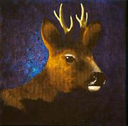 Lisbet Damgaard - Portrait of roebuck