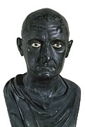 Statue Portrait Prints - Portrait Of Scipio Africanus The Elder Print by Everett