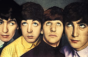 Mccartney Digital Art - Portrait of the beatles by Sippapas Thienmee