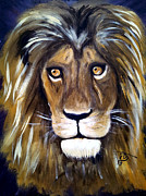 Lord Of Lords. King Of Kings Prints - Portrait Of The King Print by Pamorama Jones