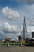 Shard Prints - Portrait of the Shard Print by Gary Eason