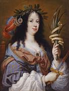 Famous Artists - Portrait of Vittoria della Rovere as Saint Vittoria by Mario Balassi
