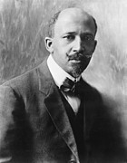 1918 Art - Portrait of W.E.B. DuBois by Underwood Archives