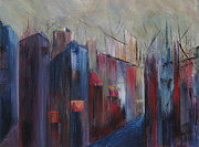 Alleyway Paintings - Ports Passage by Roberta Rotunda