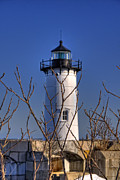 New England Lighthouse Prints - Portsmouth Harbor Light 3 Print by Joann Vitali