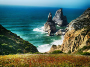 Rocky Outcrops Prints - Portugal Dream Print by Mountain Dreams