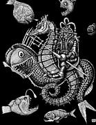 Poseidon Print by Vitaliy Gonikman