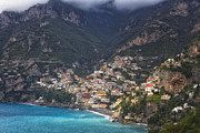 George Oze - Positano in Morning Light