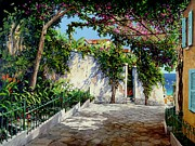 Michael Swanson Framed Prints - Positano  Framed Print by Michael Swanson