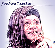Jacqueline Lloyd - Positive Thinker Pastel