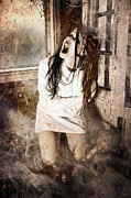 Haunted House Photo Posters - Possessed Poster by Jt PhotoDesign