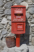 Post Box Framed Prints - Post Box in Karimabad  Framed Print by Robert Preston