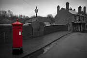 John Hallett Acrylic Prints - Post Box Acrylic Print by John Hallett