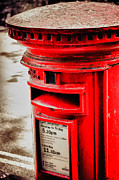 Crawley Posters - Post Box Poster by Paul Stevens