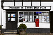 Letter Box Framed Prints - Post Office in an Oxfordshire village in England Framed Print by Robert Preston