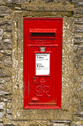 Mail Box Posters - Postbox Poster by Nick Field