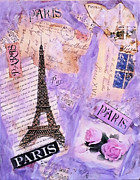 Vintage Paris Originals - Postcard From Paris by Ruby Cross