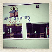 Surfer Art Originals - Postcards from Surfer Cafe by Amyn Nasser