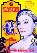 Mata Hari Posters - Poster of Mata Hari Poster by Art Cinema Gallery
