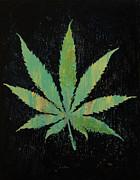 Pot Leaf Print by Michael Creese