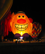 Steven Ralser Prints - Potato Head Balloon glow Print by Steven Ralser