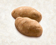 Raw Framed Prints - Potatoes Framed Print by Danny Smythe