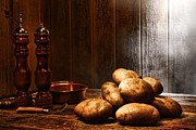 Kitchen Counter Framed Prints - Potatoes Framed Print by Olivier Le Queinec