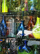 Decorative Glass Art - Potential Broken Glass by Donna Blackhall