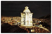 Bolivia Guide Prints - Potosi Church Dome Vintage Print by For Ninety One Days