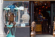 Entrance Shop Front Prints - Potpourri Print by Bernard  Barcos