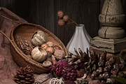 Earth Tones Photo Prints - Potpourri Still Life Print by Tom Mc Nemar
