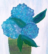 Holly Martinson - Potted Hydrangeas