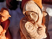 Ion vincent DAnu - Pottery Fair virgin Mary...
