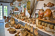 Master Potter Prints - Pottery in La Borne Print by Oleg Koryagin